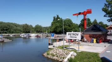 Výlety na začátek Baťova kanálu: Petrov