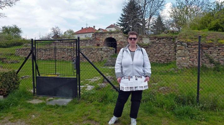 Zbytky tvrze a zámku v Kralicích nad Oslavou